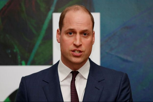 Prince William en Irlande en mars 2020.