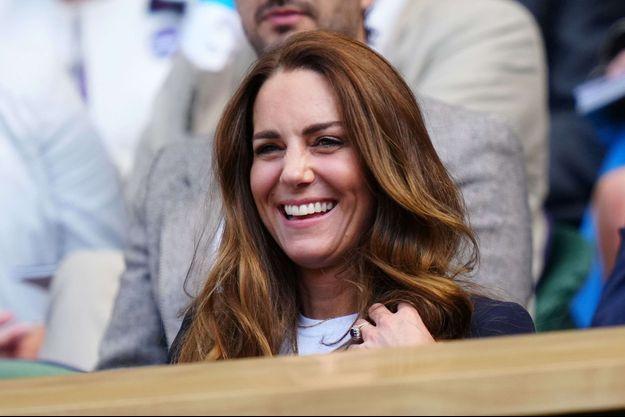 Kate Middleton à Wimbledon le 2 juillet 2021
