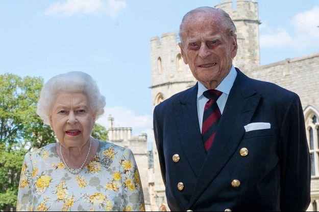 La reine Elizabeth II et le prince Philip en juin 2020