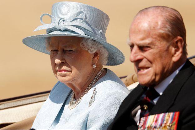 La reine Elizabeth II et le prince Philip le 17 juin 2017