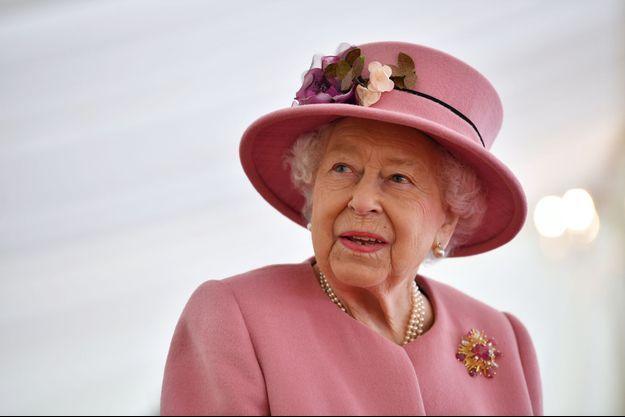 La reine Elizabeth II, le 15 octobre 2020