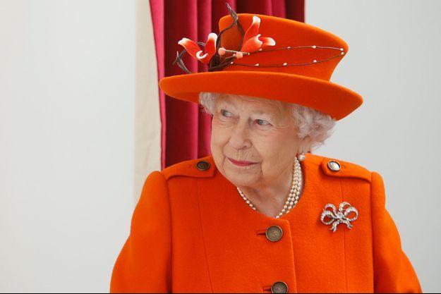 La reine Elizabeth II à Londres, le 20 mars 2018