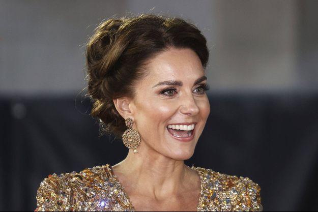 Kate Middleton à Londres le 28 septembre 2021
