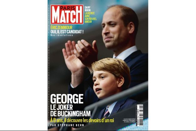 La couverture du numéro 3766 de Paris Match.