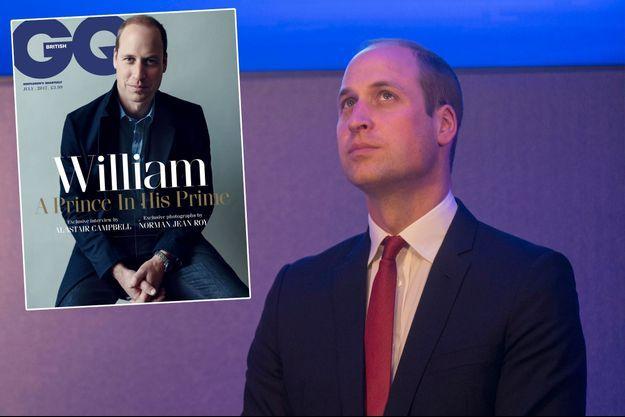 Le prince William -ici le 18 mai 2017- fait la une du numéro de juillet 2017 de GQ