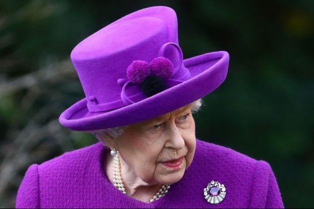 Reine Elizabeth II en novembre 2019.