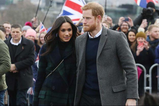 Meghan Markle et le prince Harry en 2018.