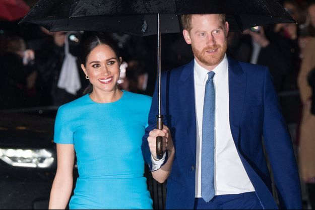 Meghan et Harry en mars 2020 à Londres