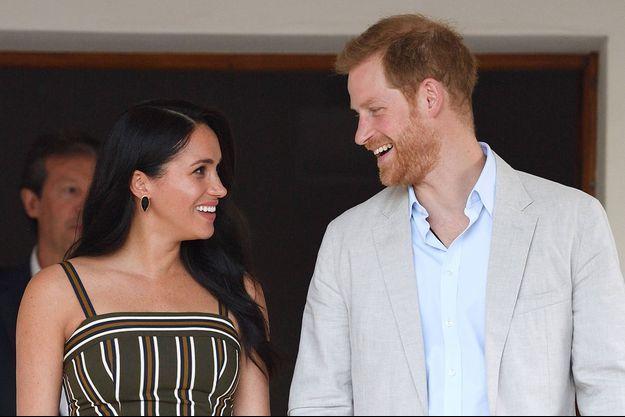 Meghan et Harry lors de leur voyage en Afrique du Sud en septembre 2019