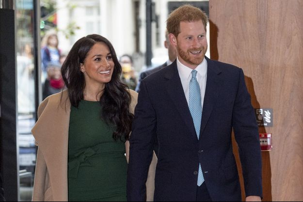 Meghan et Harry à Londres en octobre 2019