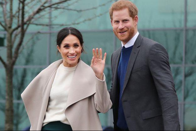 Meghan et Harry en Irlande en mars 2018.