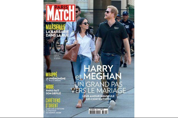 La couverture du numéro 3568 de Paris Match