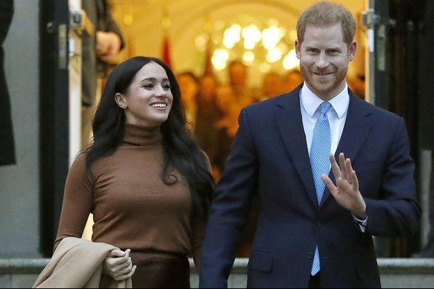 Meghan et Harry, ici à Londres début janvier.
