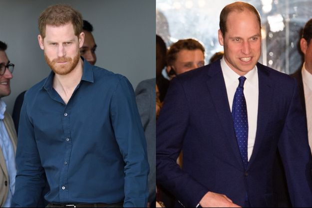 Le prince Harry et le prince William en 2020.