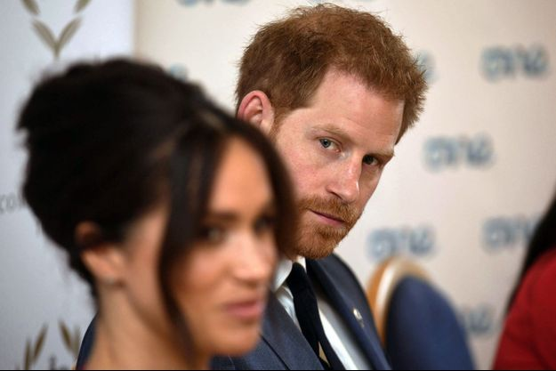 Harry et Meghan en octobre 2019.