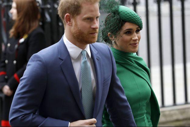 Meghan et Harry en mars dernier.