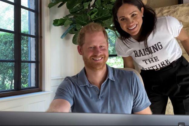 """Harry et Meghan dans la bande-annonce du docu-série """"The Me You Can't See"""""""