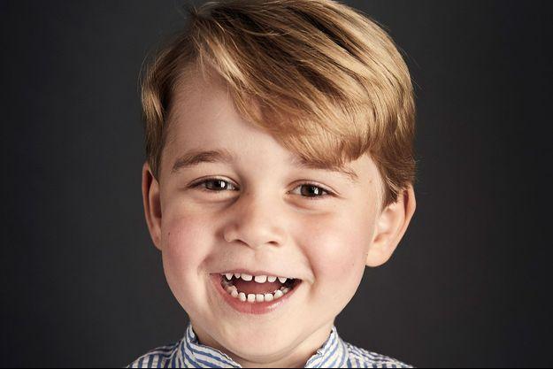 Le portrait officiel du prince George