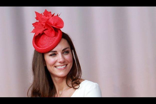 La duchesse de Cambridge, lors des célébrations de la fête du Canada à Ottawa, le 1er juillet 2011.
