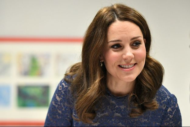 La duchesse de Cambridge, née Kate Middleton, à Londres le 7 mars 2018