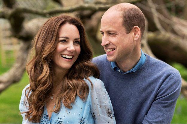 La Duchesse et le Duc de Cambridge.