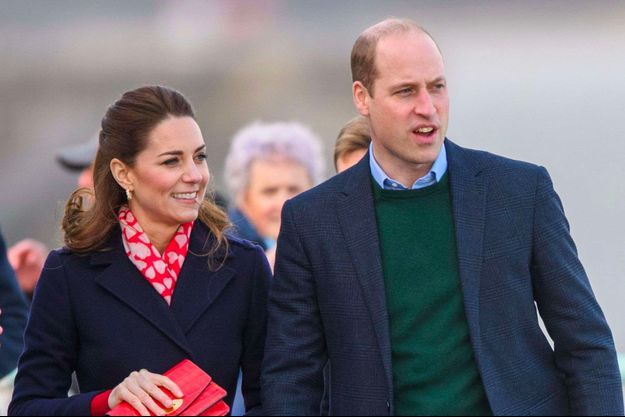 Kate et William, février 2020.