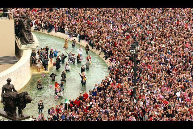 Le peuple anglais a fêté comme il se doit le mariage du prince William et de Kate.