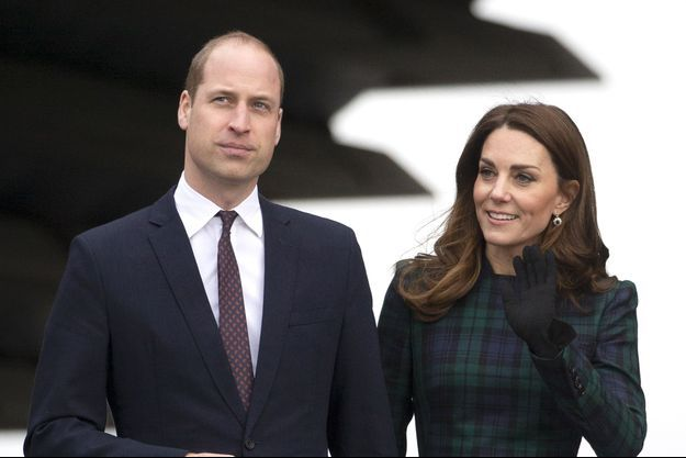 Kate Middleton et le prince William à Dundee, le 29 janvier 2019