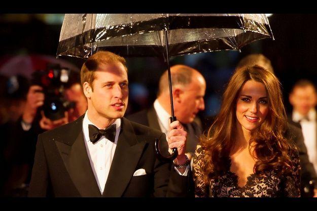 William et Kate, à la première de Cheval de guerre.
