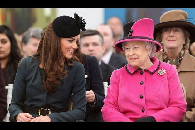 Première cérémonie en l'honneur du jubilé de diamant d'Elizabeth II qui fête ses 60 ans de règne, ici à Leicester le 8 mars dernier.