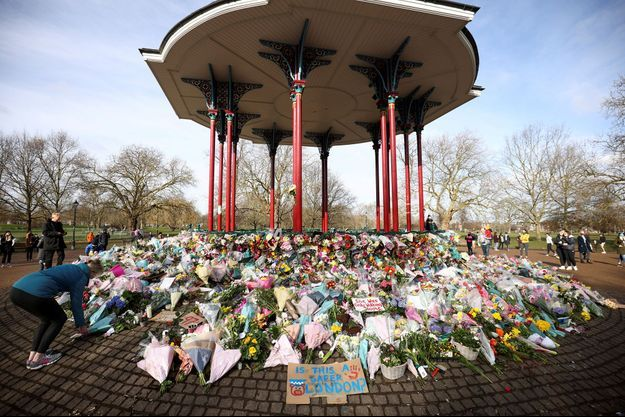 Le mémorial de Clapham, à Londres.