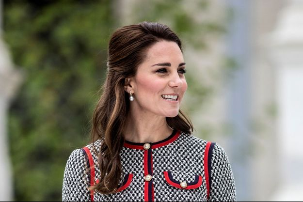 Kate Middleton au Victoria and Albert Museum en juin 2017.