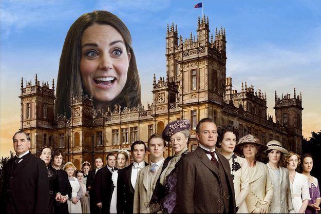 La duchesse de Cambridge, née Kate Middleton, va bientôt visiter le plateau de la célèbre série Downton Abbey.