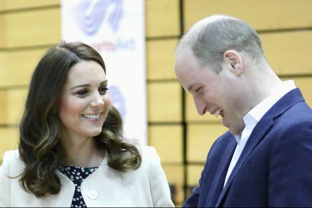 Kate Middleton enceinte et william