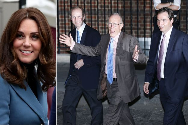 Kate Middleton Guy Thorpe-Beeston Sir Marcus Setchell Alan Farthing