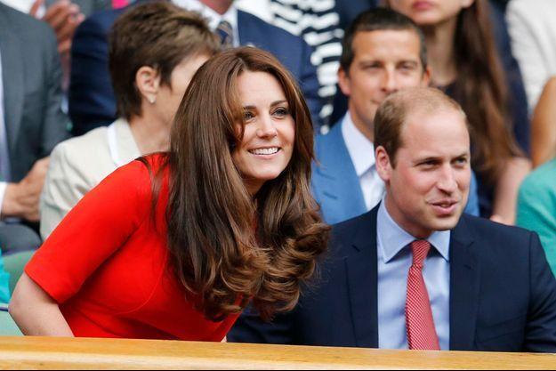 La duchesse Kate et le prince William à Wimbledon, le 8 juillet 2015