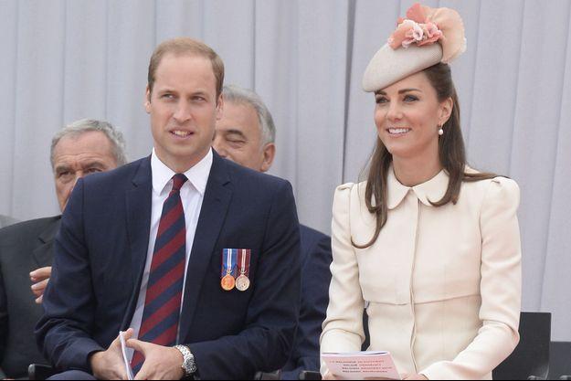Le prince William et Kate à Liège, en Belgique, le 4 août dernier.