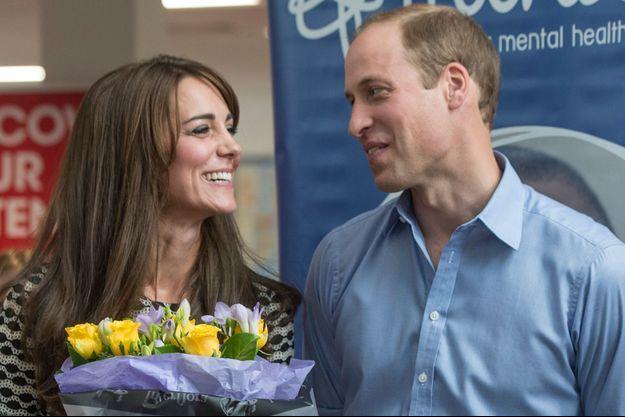 Le duc et la duchesse de Cambridge, William et Kate, le 10 octobre 2015