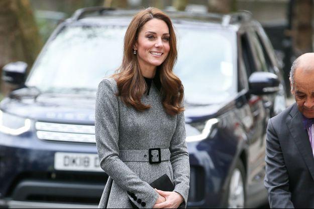 Kate Middleton à Londres, le 19 mars 2019