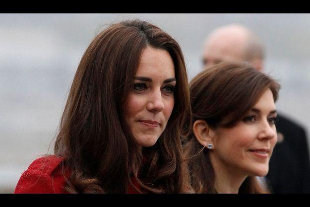 Kate et Mary de Danemark.