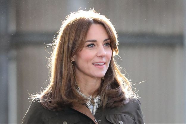 Kate Middleton en Irlande en mars 2020.