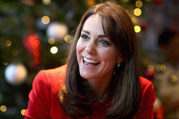 La duchesse Catherine au Anna Freud Centre à Londres, le 15 décembre 2015