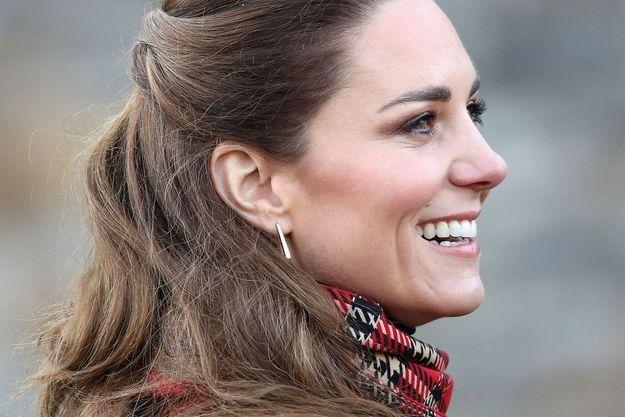 Kate Middleton en décembre 2020.