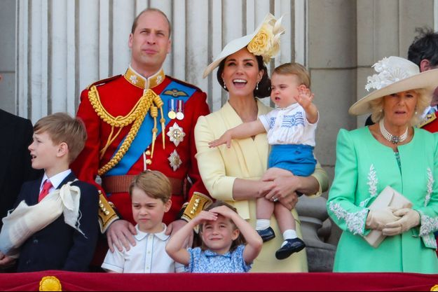 Kate Middleton, le prince William et leurs enfants en juin 2019