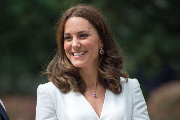 La duchesse de Cambridge, née Kate Middleton, le 17 juillet 2017