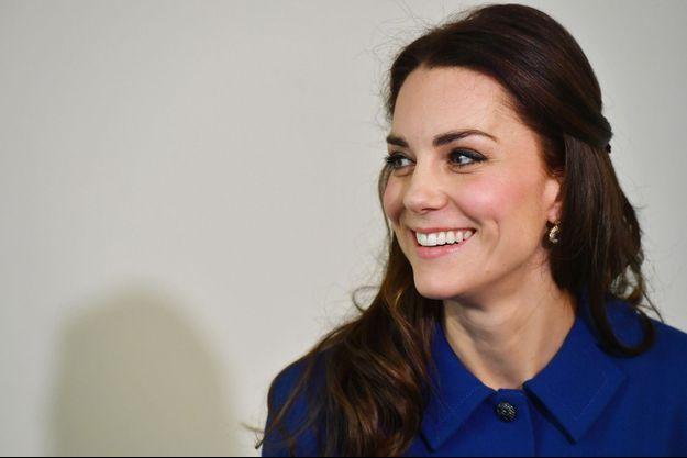 La duchesse de Cambridge, née Kate Middleton, le 11 janvier 2017