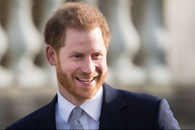 Le prince Harry à Londres en janvier 2020.