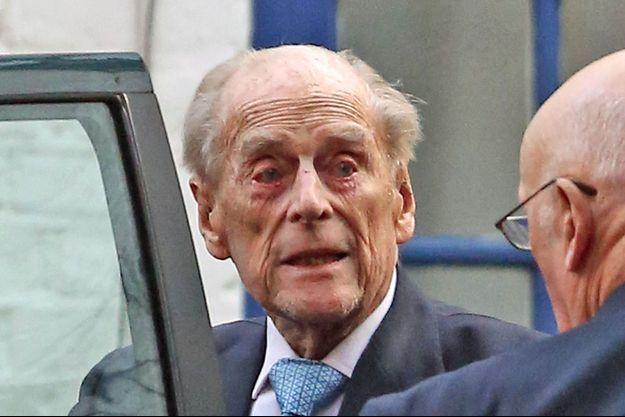 Le prince Philip à Londres, le 24 décembre 2019