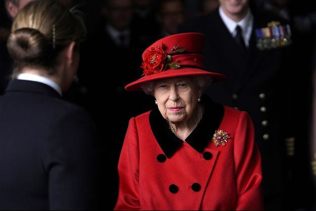 Elizabeth II le 22 mai dernier.