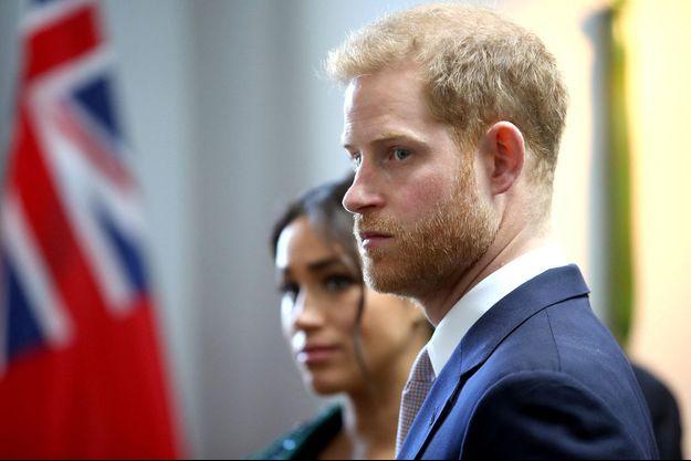 Le prince Harry, en mars 2019, à Londres.